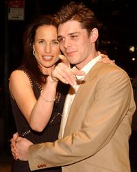 Andie MacDowell and Kenny Doughty at the premiere of