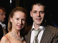 Caroline Carver and Kenny Doughty at the UK premiere of