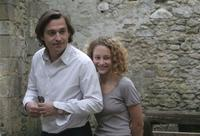 Louis-Do de Lencquesaing as Gregoire Canvel and Alice de Lencquesaing as Clemence Canvel in