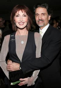 Joanna Gleason and Chris Sarandon at the 50th Annual Drama Desk Awards.