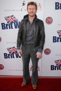 Tony Curran at the launch party for BritWeek.