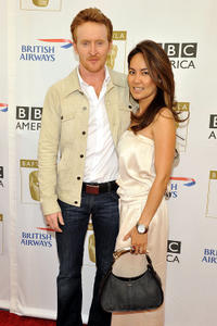 Tony Curran and Mai at the 8th Annual BAFTA/LA TV party in Los Angeles.