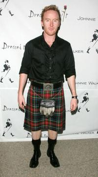 Tony Curran at the Johnnie Walker's Dressed To Kilt 2007 fashion show.