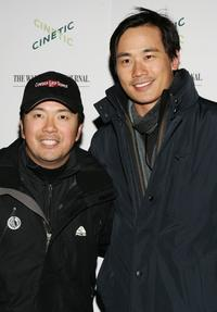 Justin Lin and Roger Fan at the 2007 Sundance Film Festival.