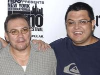 Richard Petrocelli and Director Alfredo de Villa at the screening of