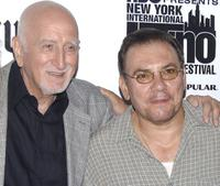 Dominic Chianese and Richard Petrocelli at the screening of