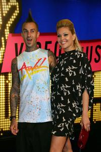 Travis Barker and Shanna Moakler at the 2007 MTV Video Music Awards.