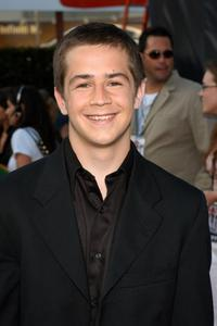Michael Angarano at the opening of