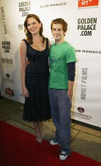 Sunny Mabrey and Michael Angarano at the TIFF after party of