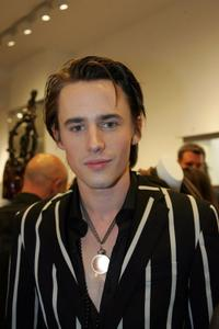 Reeve Carney at the Scoop NYC & EDUN celebration of Fashion's Night Out.