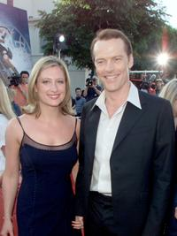 Susanna Harker and Iain Glen at the premiere of