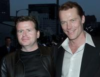 Director Simon West and Iain Glen at the premiere of
