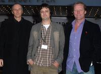 Dominic Wright, Niall Heery and Iain Glen at the premiere of