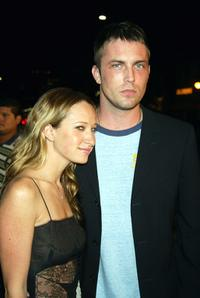 Jennifer Meyer and Desmond Harrington at the premiere of