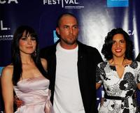 Michelle Borth, Desmond Harrington and Jac Schaeffer at the premiere of