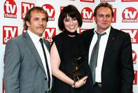 Keeley Hawes, Philip Glenister and Guest at the TV Quick and TV Choice Awards.