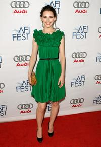 Liane Balaban at the 2008 AFI FEST.