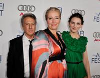 Dustin Hoffman, Emma Thompson and Liane Balaban at the 2008 AFI FEST.