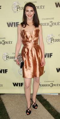 Liane Balaban at the second Annual Women In Film Pre-Oscar Cocktail Party.