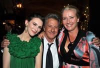 Liane Balaban, Dustin Hoffman and Emma Thompson at the premiere of