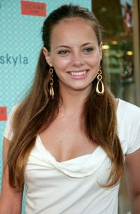 Bijou Phillips at the opening of new boutique Skyla.