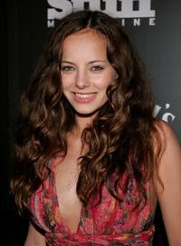 Bijou Phillips at the Stuff Magazine & Jack Daniels Kentucky Derby party.