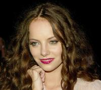 Bijou Phillips at the Lamb By Gwen Stefani Spring 2006 fashion show during the Olympus Fashion week.
