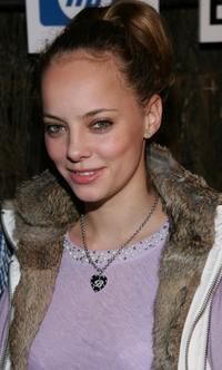 Bijou Phillips at the Entertainment Weekly's Winter Wonderland Sundance Bash during the 2005 Sundance Film Festival.