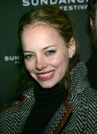 Bijou Phillips at the 2007 Sundance Film Festival screening of