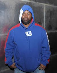 Raekwon at the fuse TV in New York City.