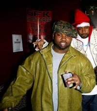 Ghostface Killah and Raekwon at the Xbox party and concert.