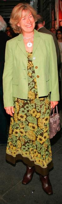 Jayne Atkinson at the opening night of