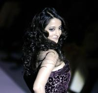 Raima Sen at the Wills India Fashion Week.