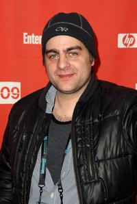 Derick Martini at the screening of