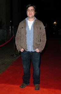 Derick Martini at the premiere of