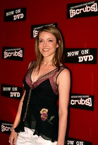 Christa Miller at the DVD Launch Party for First Season of Scrubs.