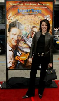 Christa Miller at the world premiere of
