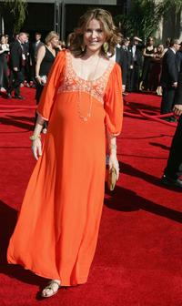 Christa Miller at the 58th Annual Primetime Emmy Awards.