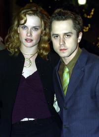 Mariah O'Brien and Giovanni Ribisi at the premiere of