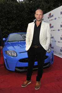 Andrew Howard at the BritWeek Los Angeles Red Carpet Launch party with official vehicle sponsor Jaguar in California.