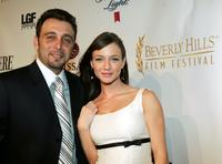 Nino Simone and Katharine Towne at the after party of 5th Annual International Beverly Hills Film Festival opening night.