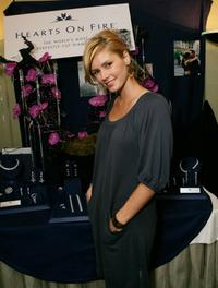 Brianna Brown at the Hearts On Fire table at