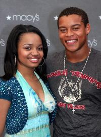 Kyla Pratt and Robert Ri'chard at the 2005 Macy's Passport Gala.