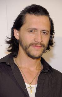 Clifton Collins, Jr. at the launch party for the new BlackBerry Curve.