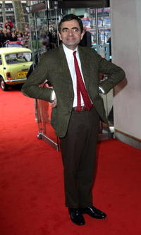 Rowan Atkinson at the London premiere of