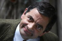 Rowan Atkinson at a photocall in Paris for