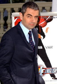 Rowan Atkinson at a photocall in Madrid for