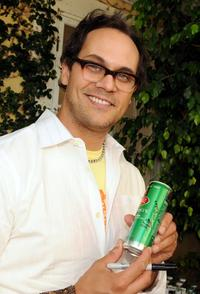 Todd Stashwick at the 2008 DPA Garden Party gift suite.