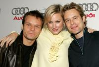 Alec Newman, Alice Evans and Brad Rowe at the world premiere of