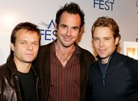 Alec Newman, Paul Blackthorne and Brad Rowe at the world premiere of